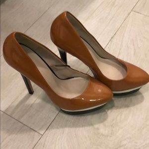 Zara platform shoes